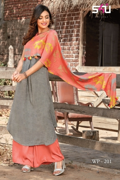 WEEKEND PASSIONS VOL 2 S4U STYLISH KURTI WITH DUPATTA AND SHRUG AT WHOLESALE DEALER BEST RATE BY GOSIYA EXPORT SURAT (2)