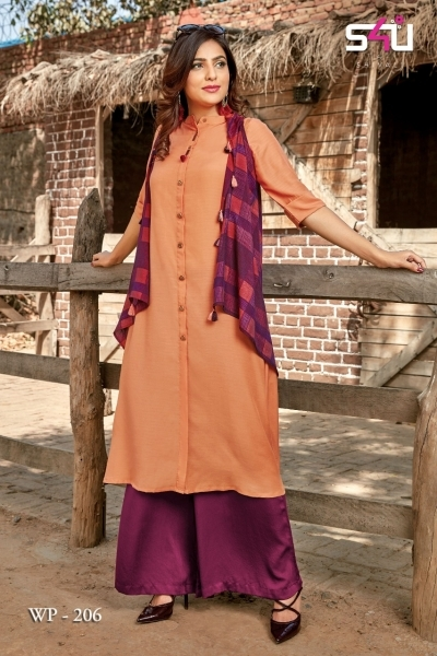WEEKEND PASSIONS VOL 2 S4U STYLISH KURTI WITH DUPATTA AND SHRUG AT WHOLESALE DEALER BEST RATE BY GOSIYA EXPORT SURAT (5)