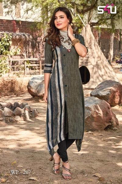 WEEKEND PASSIONS VOL 2 S4U STYLISH KURTI WITH DUPATTA AND SHRUG AT WHOLESALE DEALER BEST RATE BY GOSIYA EXPORT SURAT (7)