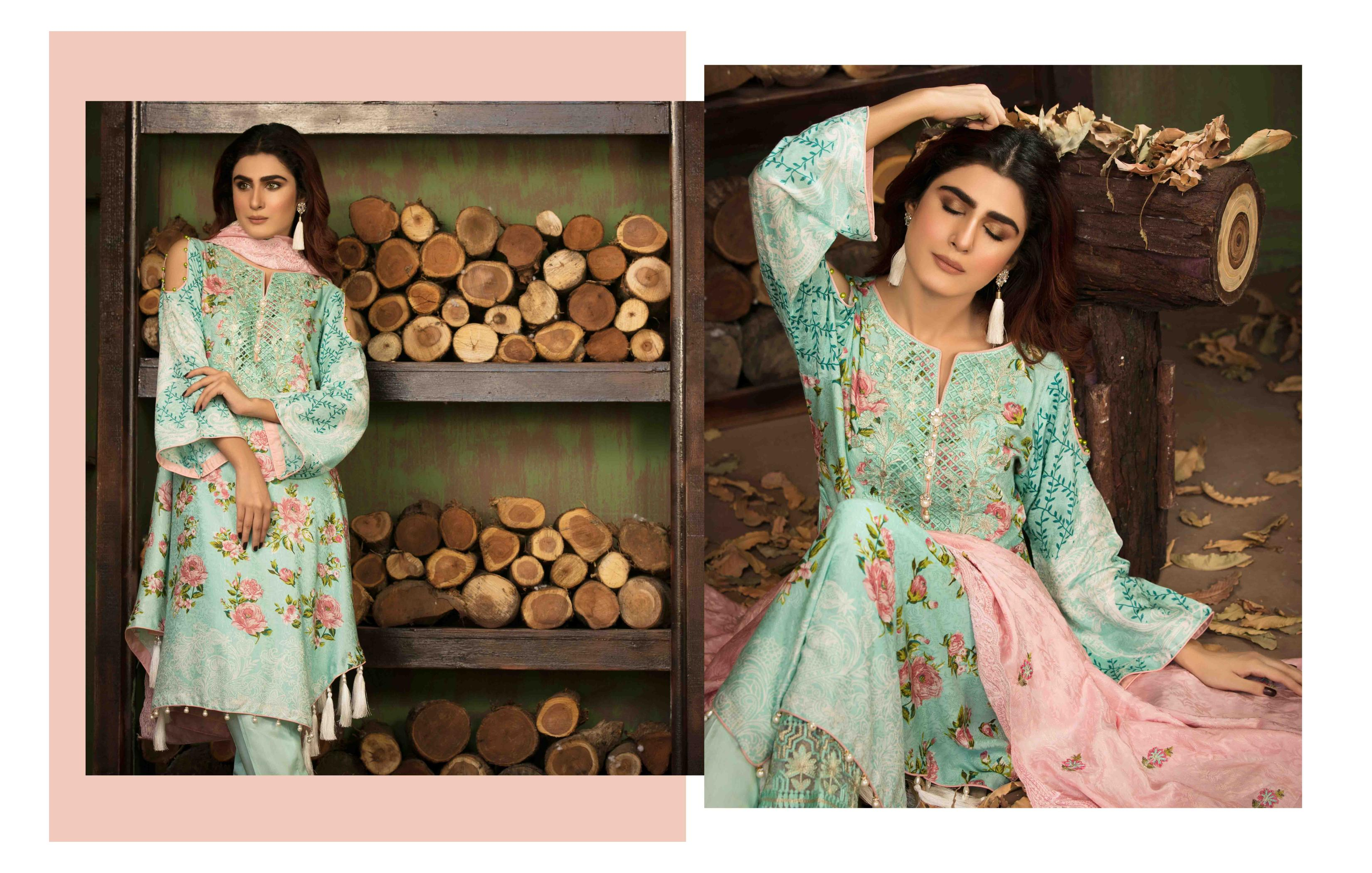 a33a6dc3c6 Gosiya Exports » Winter Opulence Embroidered Viscose Collection with ...