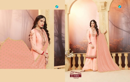 YOUR CHOICE PRESENTS NAAZ SATIN SALWAR  (1)