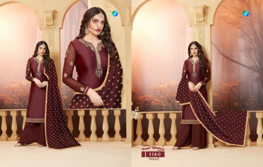 YOUR CHOICE PRESENTS NAAZ SATIN SALWAR  (2)