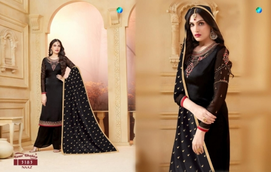 YOUR CHOICE PRESENTS NAAZ SATIN SALWAR  (3)