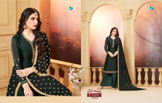 YOUR CHOICE PRESENTS NAAZ SATIN SALWAR  (6)