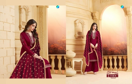 YOUR CHOICE PRESENTS NAAZ SATIN SALWAR  (7)